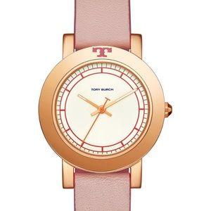 🆕 Tory Burch Ellsworth Leather Strap Watch, 36mm